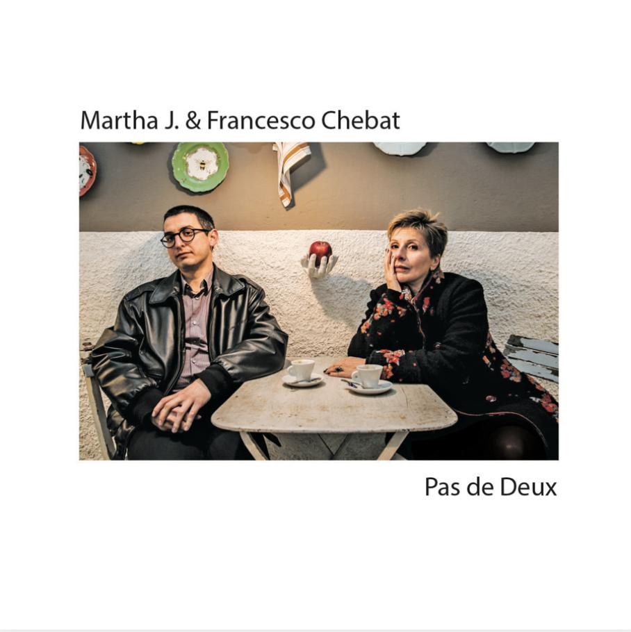 COPERTINA DEL DISCO PAX DE DEUX DI MARTHA J. AND FRANCESCO CHEBAT